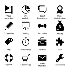 Seo icons vol 2 vector