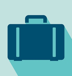 Luggage icon vector