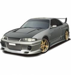 Modern sports car vector