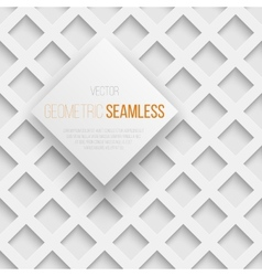 Abstract seamless geometric square pattern with vector