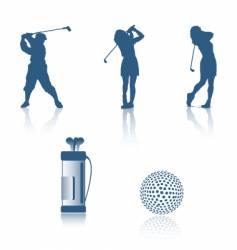 Golf design vector