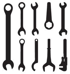 Screw wrench vector