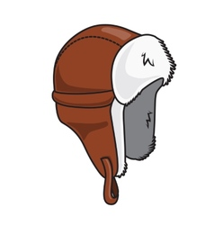 Winter hat vector