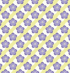 Seamless flowers pattern summer background froral vector