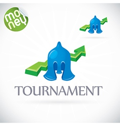 Finance tournament vector