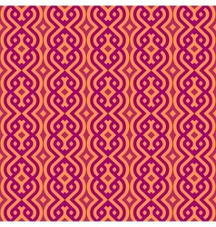 Vintage wallpaper pattern seamless background vector