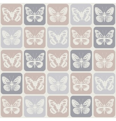 Seamless pattern with butterflies eps 8 vector