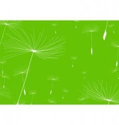 Dandelion negative vector