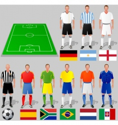Fifa world cup group a vector