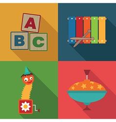 Toy symbols vector