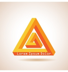 Impossible triangles vector