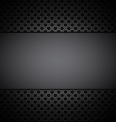 Gray grill texture background vector