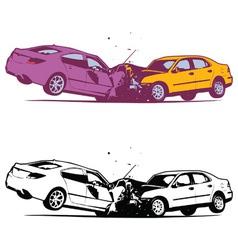 Car collision vector