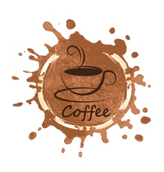 Coffee design over background vector