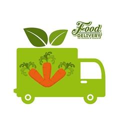 Delivery food vector
