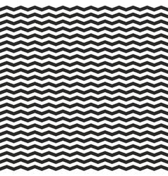 Zig zag black and white chevron tile pattern vector