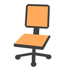 Offices chair vector