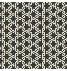 Monochrome mesh chain seamless pattern vector