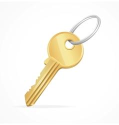 Golden key vector