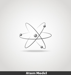 Simple atom icon copy vector