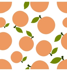 Pattern silhouette peaches vector