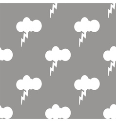 Storm seamless pattern vector