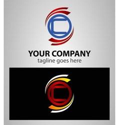 Letter c logo icon set element vector
