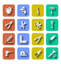 Tools icons with shadows vol 2 vector