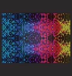 Psychedelic mosaic vector