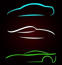 Modren car logo vector