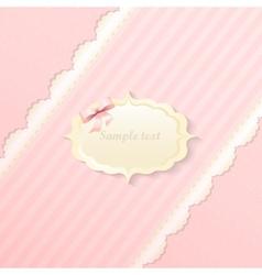 Classic romantic invitation design  yellow vector