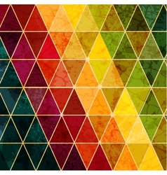 Colorful abstract geometric background with vector