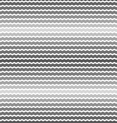 Wave gray gradient background seamless pattern vector