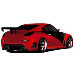 Japanese street racer vector