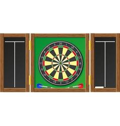 Dart board vector
