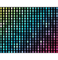 Abstract mosaic neon background 2 vector