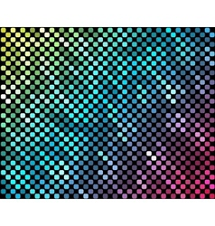 Abstract mosaic neon background 3 vector