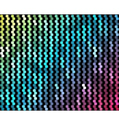 Abstract mosaic neon background 4 vector
