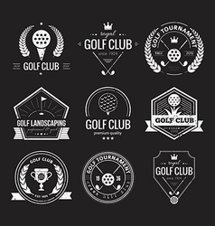 Golf club logo vector