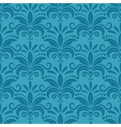Royal wallpaper with damask seamless floral vector