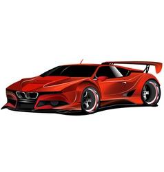 Street racer vector