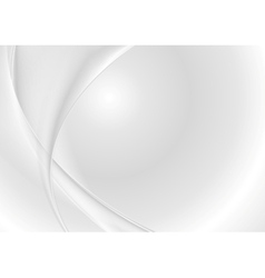 Abstract grey pearl waves vector