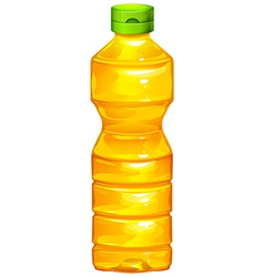 A bottle of cooking oil vector