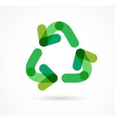 Recycling icon and symbol vector