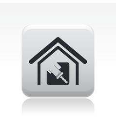 House paint icon vector