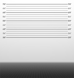 Police lineup background vector