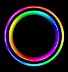 Multicolor spectral circle vector