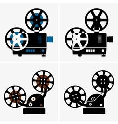 Movie camera vector