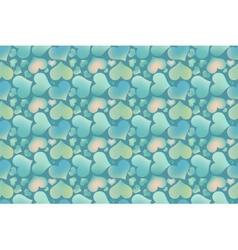 Endless blue romantic simple pattern vector