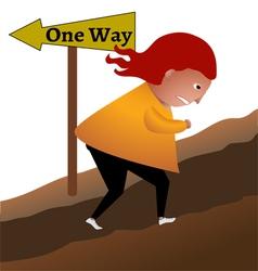 One way vector